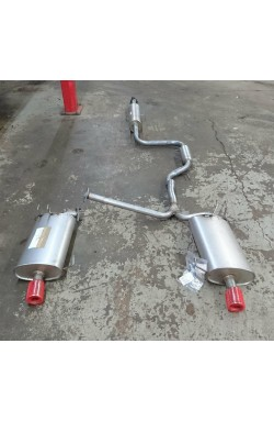 FP Replacement Exhaust System Accord CM2