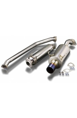 Toda Racing Exhaust System (Straight Tip) DC5