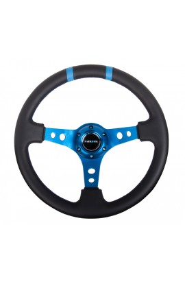 NRG Deep Dish Steering Wheel (Double Line)