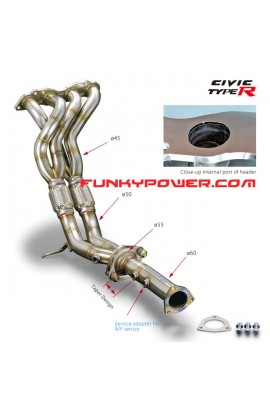 Toda Exhaust Manifold FD2