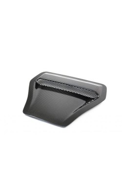 APR Carbon Bonnet Vent Scoop - FK8 Type-R