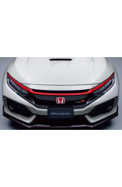 Honda Red Grille Garnish 3pc FK8 Type-R