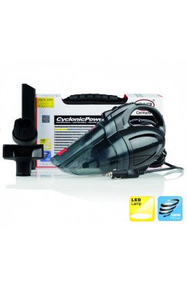 Heyner Cyclonic 12V Vaccum Cleaner w/ LED Lamp
