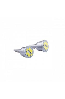 LED Sidelight Bulbs 2pc W5W T10 8SMD