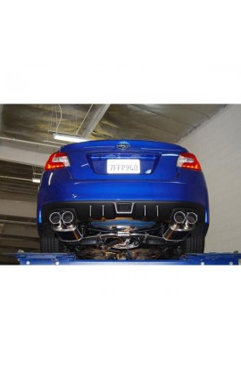 Invidia Q300 Cat-Back Exhaust System 2015 STI