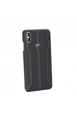 Lamborghini Huracan D1 Leather Case - Black