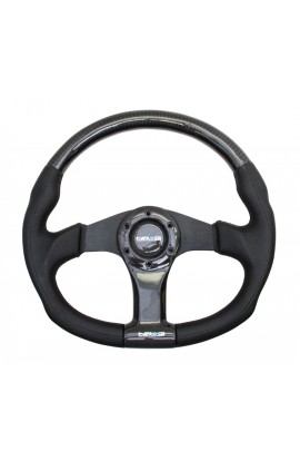 NRG Carbon Fibre Steering Wheel Oval