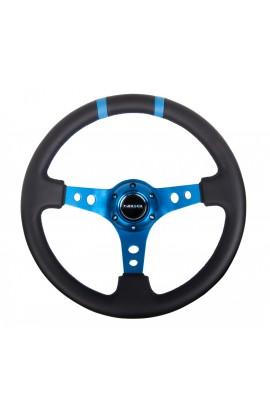 NRG Deep Dish Steering Wheel (Double Line)