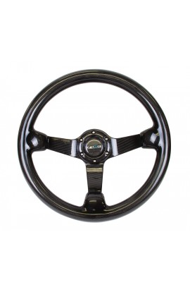 NRG Deep Dish Steering Wheel (Full Carbon)