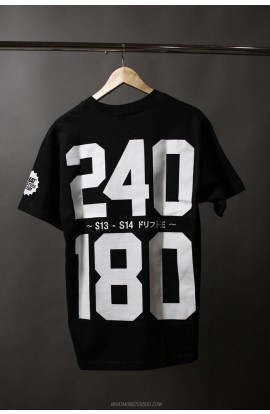 What Monsters Do 240 / 180 Black Tee